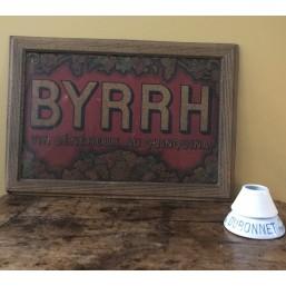 """Tôle emboutie """"Byrrh"""""""