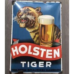 "Plaque émaillée ""Holsten..."