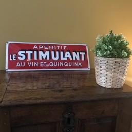 "Plaque émaillée ""Quinquina..."