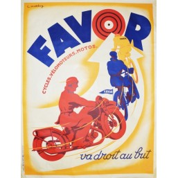 "Affiche XXL ""Cycles Favor"""