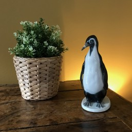 Lot Pinguins en porcelaine...