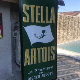 Plaque émaillée « Stella...