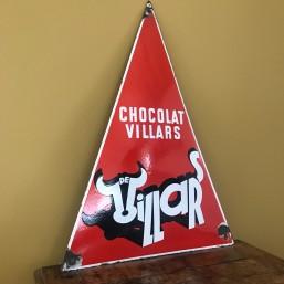 """Plaque émaillée """"Chocolat..."""