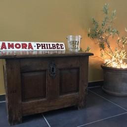 Tôle peinte « Amora Philbée »