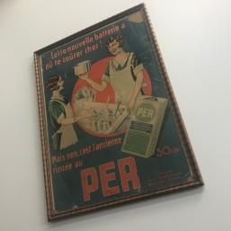 "Carton Publicitaire ""PER""..."