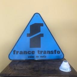 """Plaque émaillée """"France..."""