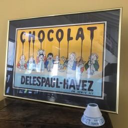 """Carton """"Chocolat..."""