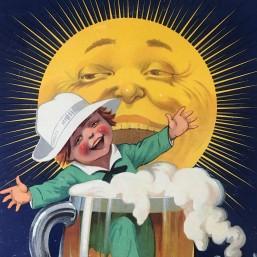 "Carton pub. ""Bière Reynoard"""