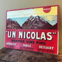 """Carton Pub. """"Nicolas -..."""