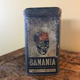 """Boite en tôle """"Banania"""""""