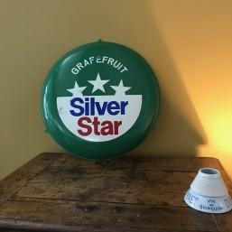 """Tôle sérigraphiée """"Silver..."""